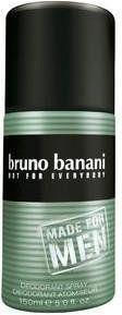 Bruno Banani Made for Men 150 ml dezodorant w sprayu dla mężczyzn dezodorant w sprayu + do każdego zamówienia upominek.