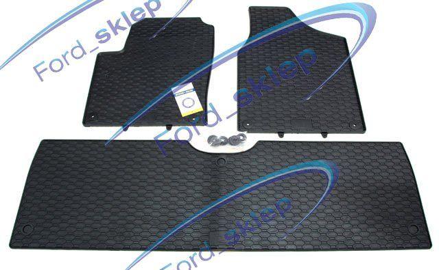 dywaniki gumowe Galaxy Mk1 Mk2 - komplet na 2 rzędy ! WYPRZEDAŻ !