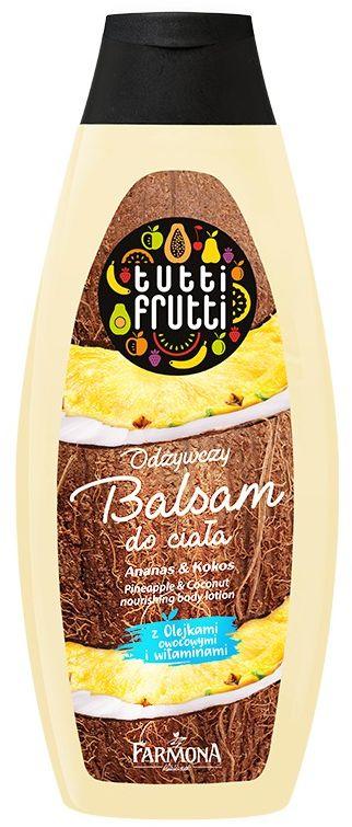 TUTTI FRUTTI Ananas & Kokos odżywczy balsam do ciała 425 ml