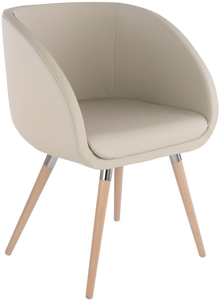 Krzesło Jula 4HW na drewnianych nóżkach, do jadalni, do sal konferencyjnych