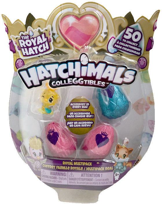 Hatchimals ColleGGtibles - Jajko niespodzianka 3-pak z niespodziaką 20108879C