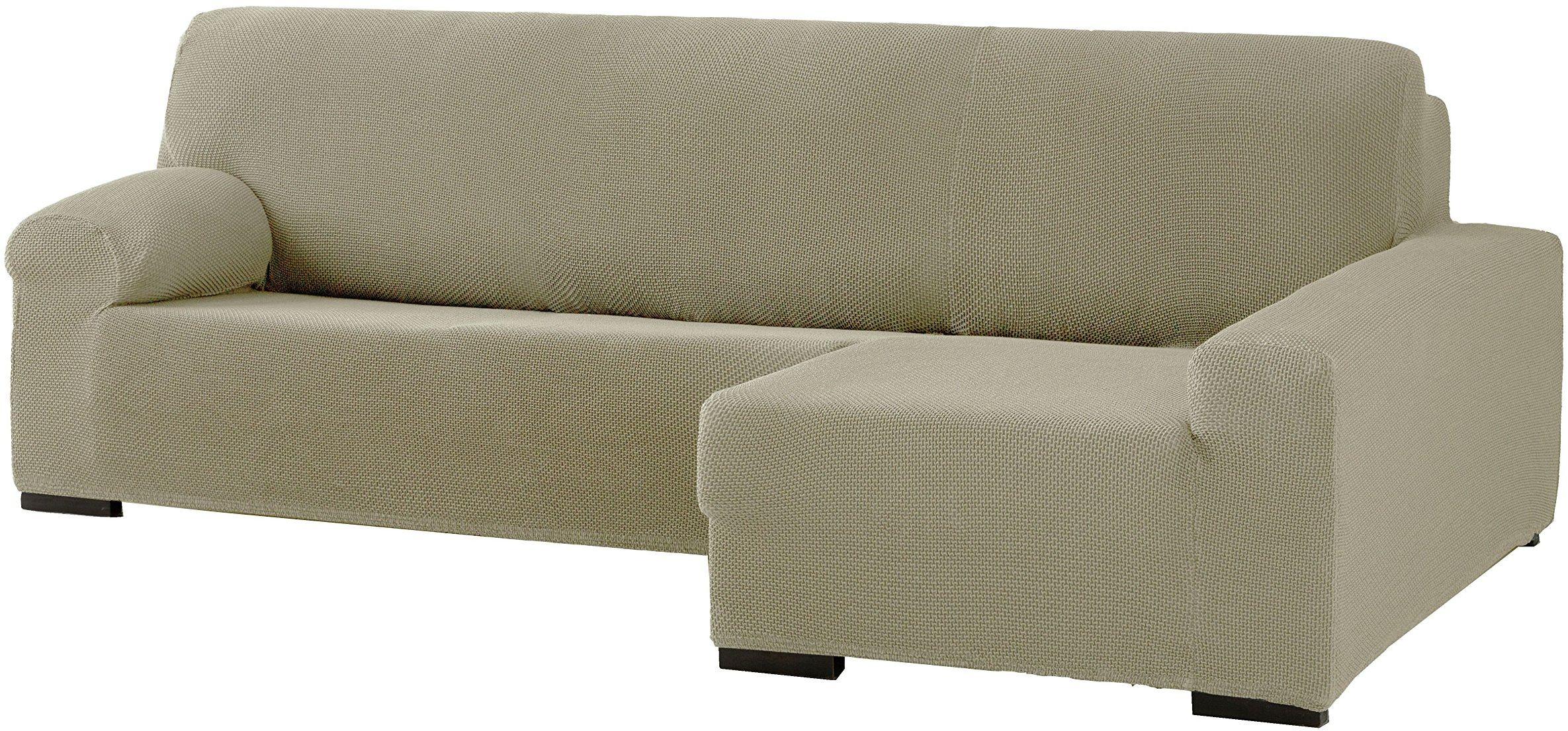 Eysa Cora podwójnie elastyczny szezlong, poliester, bawełna, len, 39 x 35 x 19 cm