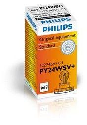 Żarówka, lampa kierunkowskazu PHILIPS 12274SV+C1