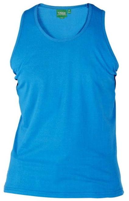 FABIO-D555 Duża Koszulka Niebieska