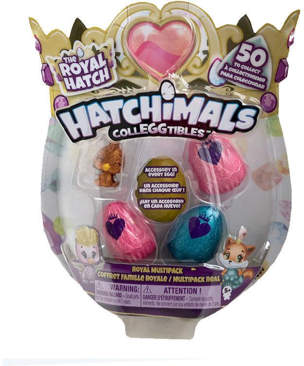 Hatchimals ColleGGtibles - Jajko niespodzianka 3-pak z niespodziaką 20108879D