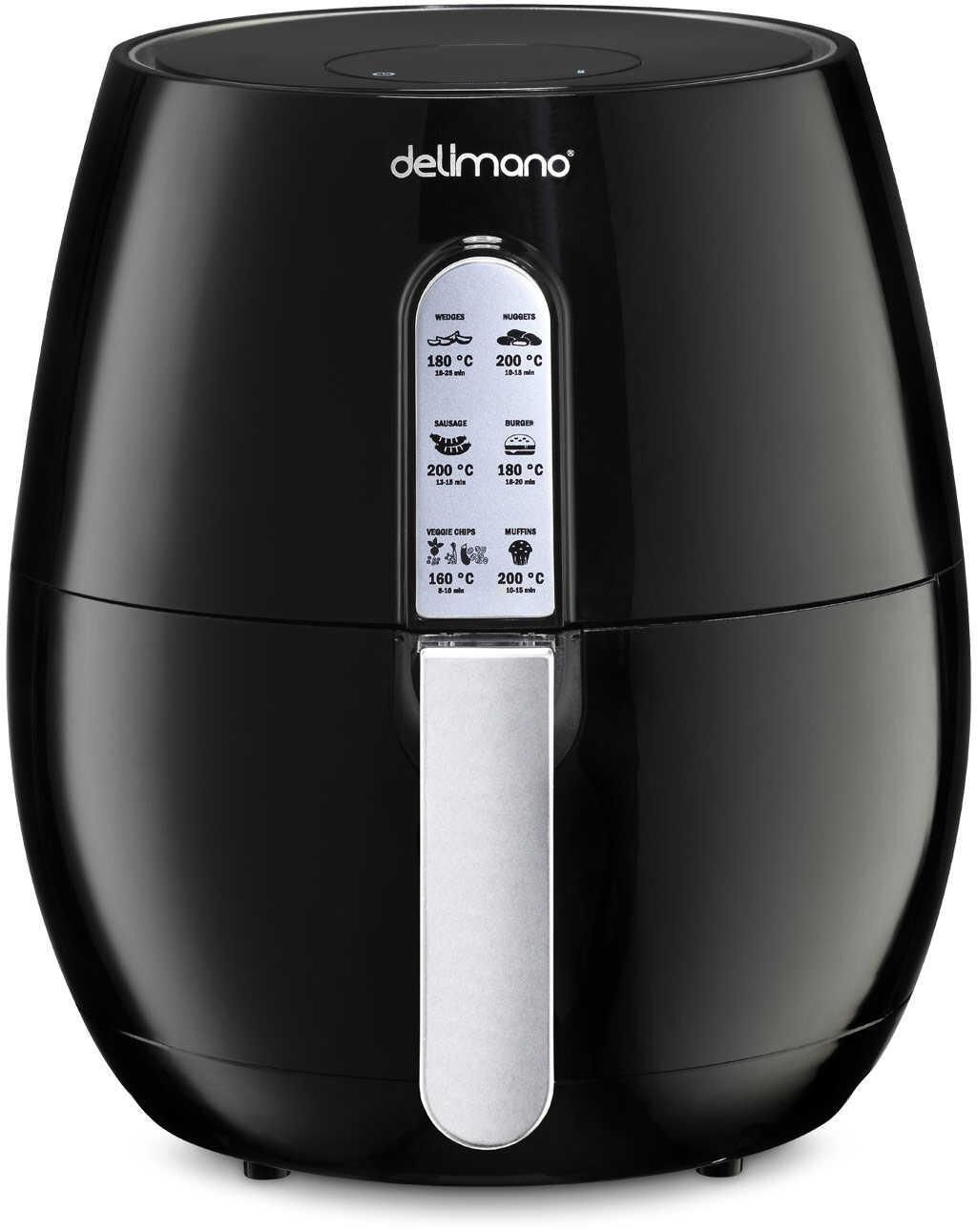 Delimano Wielofunkcyjna frytownica Air Fryer Deluxe