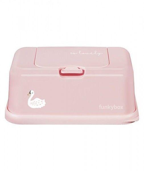 Funkybox - Pojemnik na Chusteczki Pink Swan