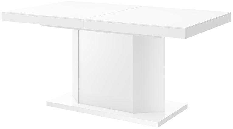 Rozkładany stół biały połysk - Walder 3X