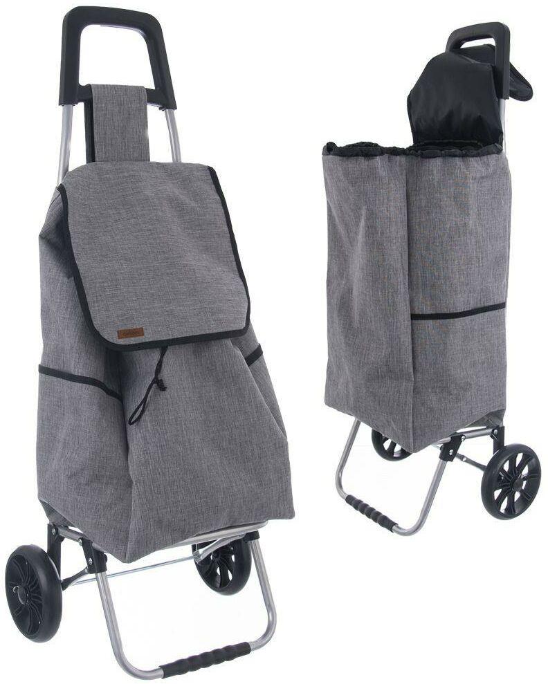 Wózek ZAKUPOWY torba zakupowa na kółkach na zakupy 40L 30kg