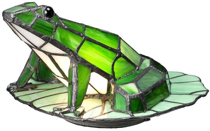 Lampka dekoracyjna w kształcie żaby Tiffany QZ-FROG-TL - Elstead