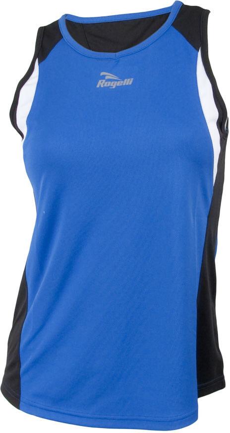 ROGELLI RUN ESTY - ultralekka damska koszulka sportowa, bez rękawów Rozmiar: M,esty-nieb-czar