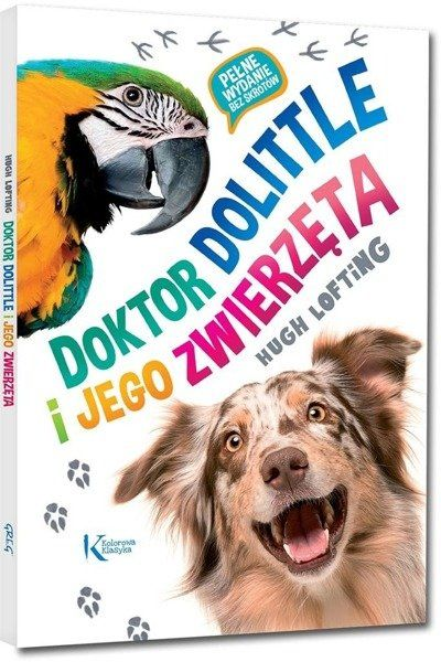 Doktor Dolittle i jego zwierzęta kolor BR GREG - Hugh Lofting