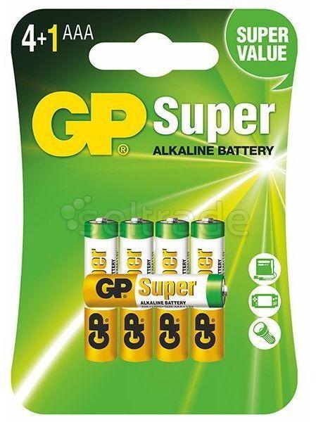 Bateria alkaliczna GP Super Alkaline LR03/AAA 5 sztuk