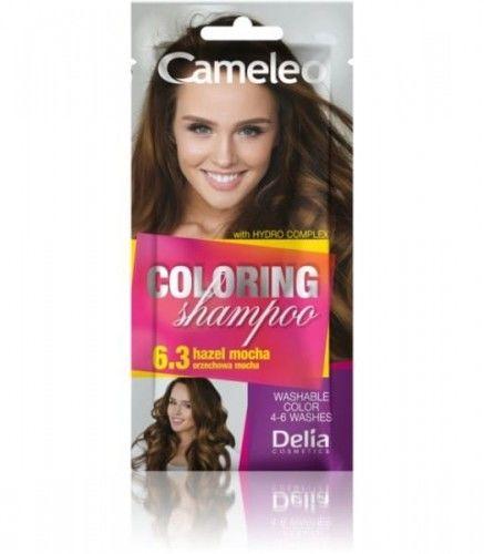 Delia Cameleo Szampon koloryzujący 6.3 Orzechowa Mocha 40ml