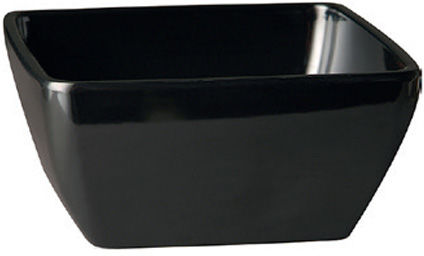 Miska PURE z melaminy czarna poj. 400 ml