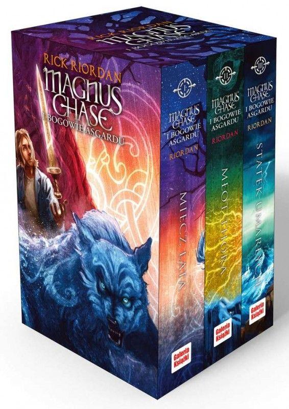 Magnus Chase / Bogowie Asgardu ZAKŁADKA DO KSIĄŻEK GRATIS DO KAŻDEGO ZAMÓWIENIA
