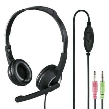 """""""HS-P150"""" PC Office Headset, Stereo, black"""