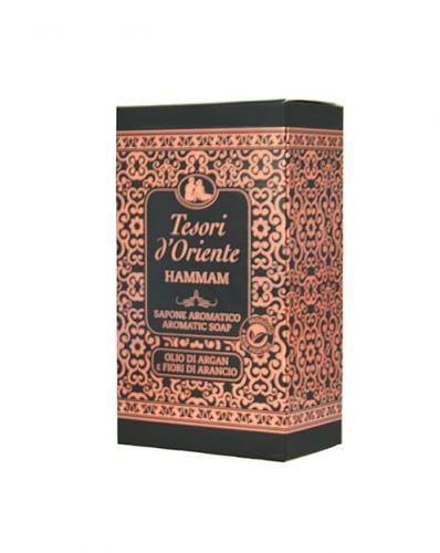 Tesori d''Oriente Hammam - Mydło w kostce w kartoniku (150 gr)