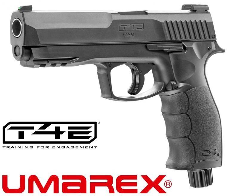 "Pistolet HDP-50 T4E RAM (Sig Sauer) na Kule Gumowe, Pieprzowe, Proszkowe 12,7mm (0.50"") - Napęd CO2."
