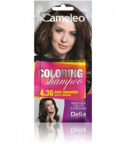 Delia Cameleo Szampon koloryzujący 4.36 Gorzka Czekolada 40ml