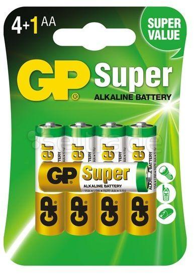 Bateria alkaliczna GP Super Alkaline LR6/AA 5 sztuk