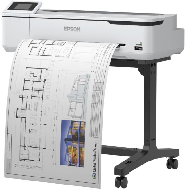 "Ploter EPSON SureColor SC-T3100 Wireless Printer 24"" 610mm (C11CF11302A0)"