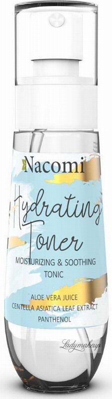 Nacomi - Hydrating Toner - Nawilżająco-łagodzący tonik do twarzy - 80 ml