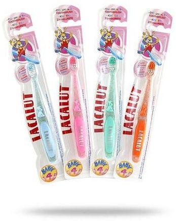 Lacalut Baby szczoteczka do zębów dla dzieci do 4 lat 1 sztuka