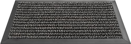 HMT 5480076080 wycieraczka z polipropylenu, antracyt/szary, 80 x 60 x 0,5 cm