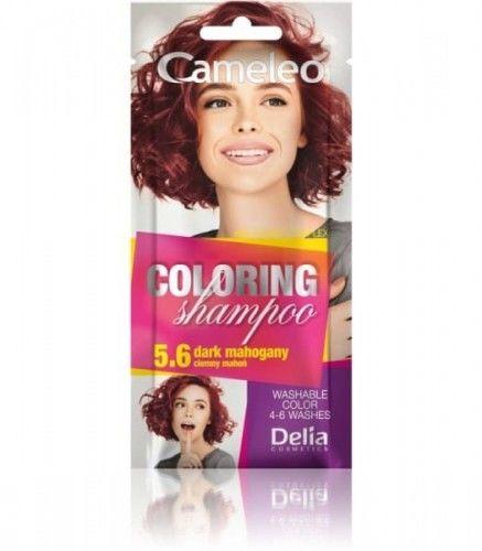 Delia Cameleo Szampon koloryzujący 5.6 Ciemny Mahoń 40ml