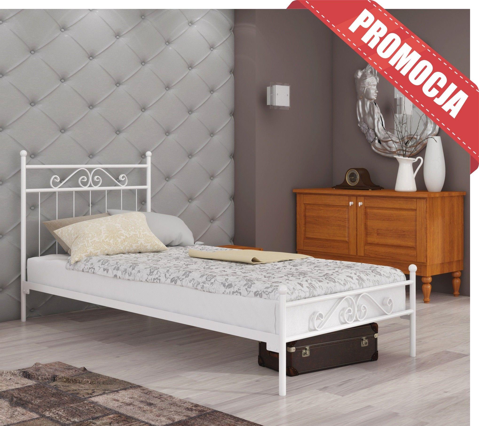 Łóżko do sypialni 90x180 wzór 2J ze stelażem pod materac