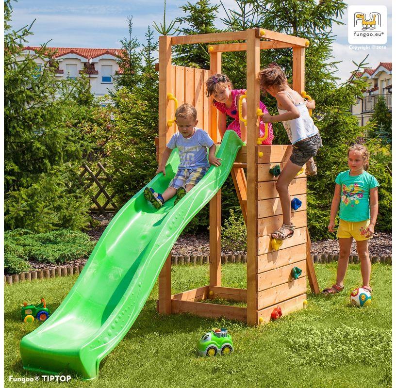 Wieża drewniana FUNGOO TIPTOP /teak/