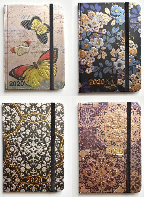Kalendarz 2020 książkowy - terminarz A6 Metalic Paper mix ZAKŁADKA DO KSIĄŻEK GRATIS DO KAŻDEGO ZAMÓWIENIA