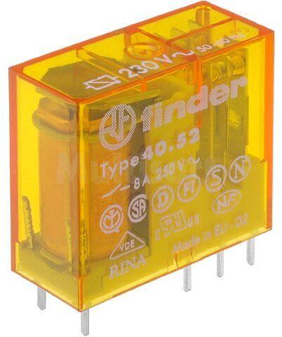 Przekaźnik elektromagnetyczny DPDT 8A/250VAC 28kOhm