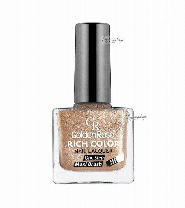 Golden Rose - RICH COLOR - Nail Lacquer - Długotrwały lakier do paznokci - 25