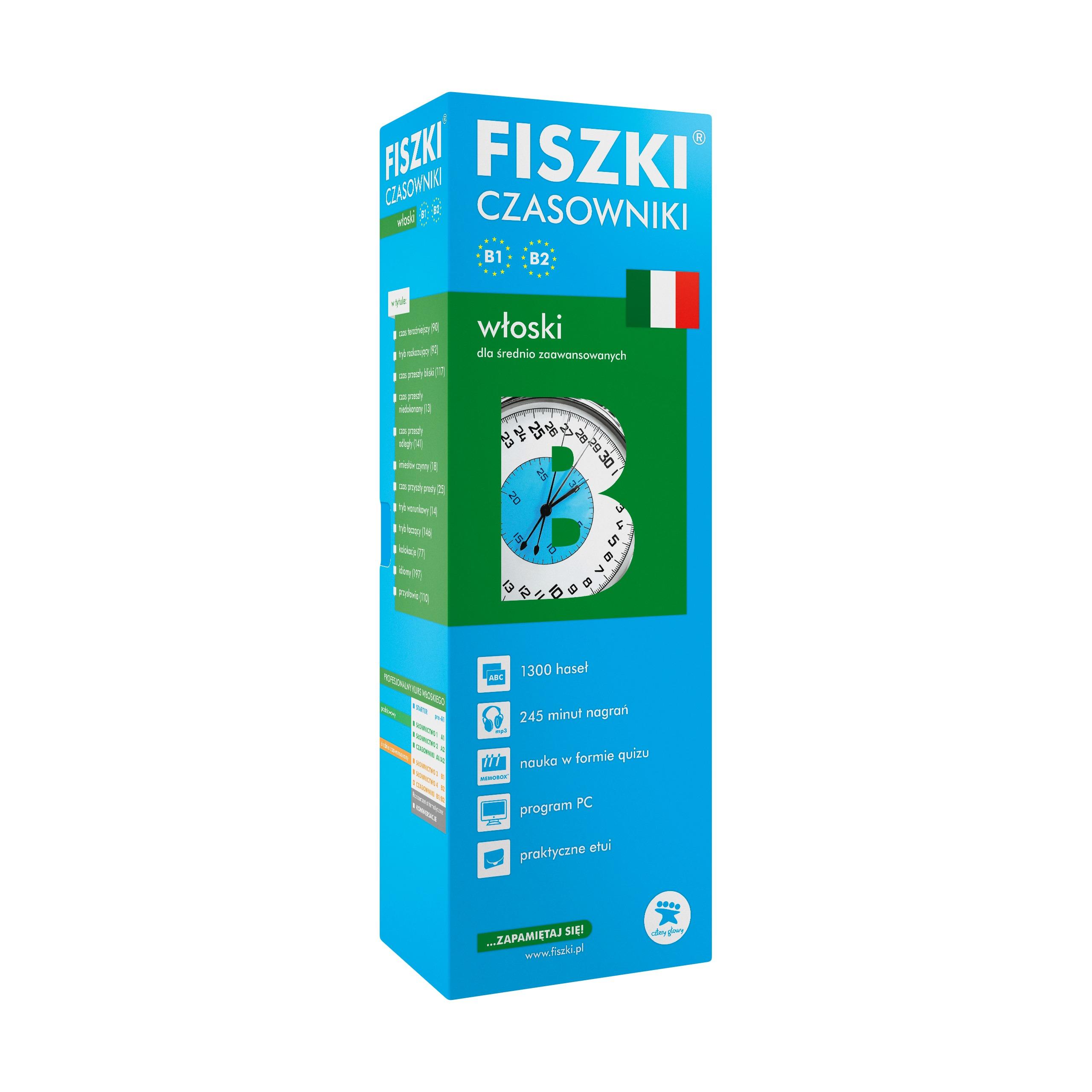 FISZKI - włoski - Czasowniki (B1-B2)
