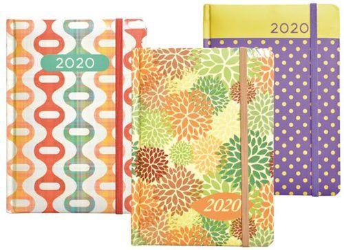 Kalendarz 2020 książkowy - terminarz B6+ Lakier z gumką mix ZAKŁADKA DO KSIĄŻEK GRATIS DO KAŻDEGO ZAMÓWIENIA