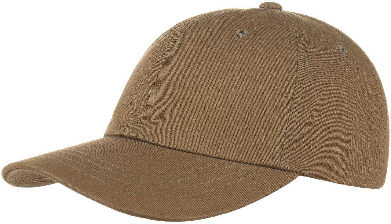 Czapka Low Profile Cotton Strapback, ciemnobeżowy, One Size