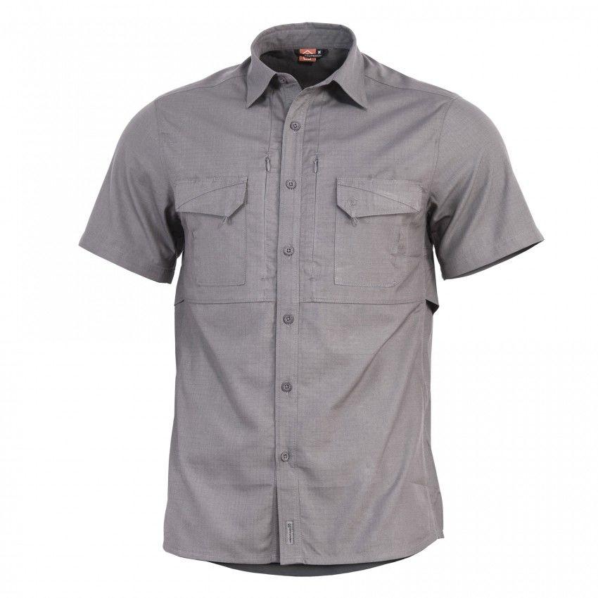 Koszula taktyczna Pentagon Plato K/R - Wolf Grey (K02019-SH-08)