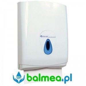 Pojemnik na pojedyncze ręczniki papierowe MERIDA TOP MAXI - okienko niebieskie