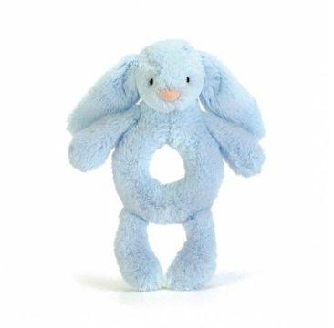 Jellycat - Króliczek Grzechotka 18cm Niebieski