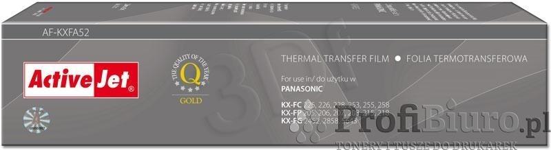 Folia AF-KXFA52 do faksu Panasonic (Zamiennik KX-FA52)