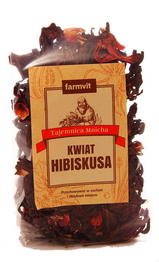 Kwiat hibiskusa - Farmvit - 100g
