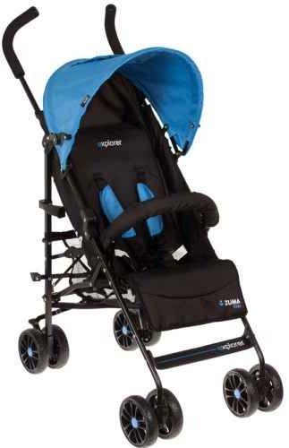 Wózek spacerowy ZUMA KIDS Explorer - Blue