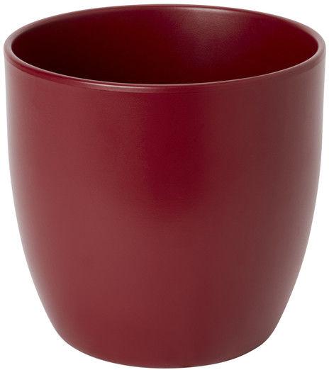 Doniczka ceramiczna GoodHome 19 cm czerwona