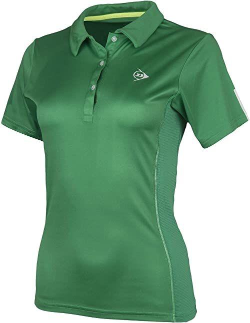 Dunlop Club Line damska koszulka polo zielony zielony X-S
