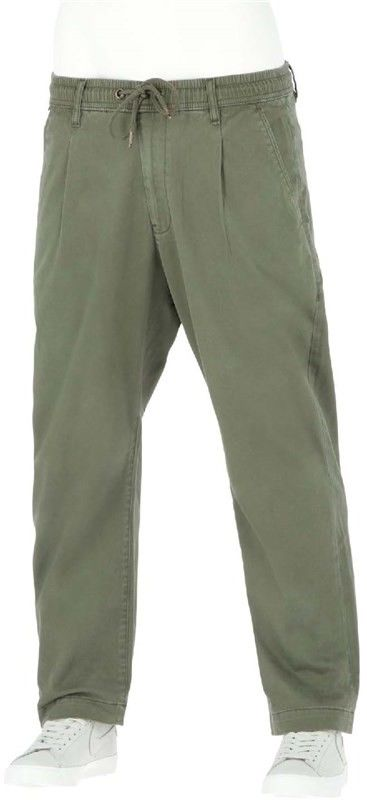 spodnie REELL - Reflex Loose Chino Olive (OLIVE) rozmiar: S normal