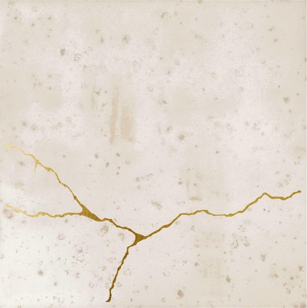 Enso Kintsugi Ivory 12,5x12,5 płytki dekoracyjne