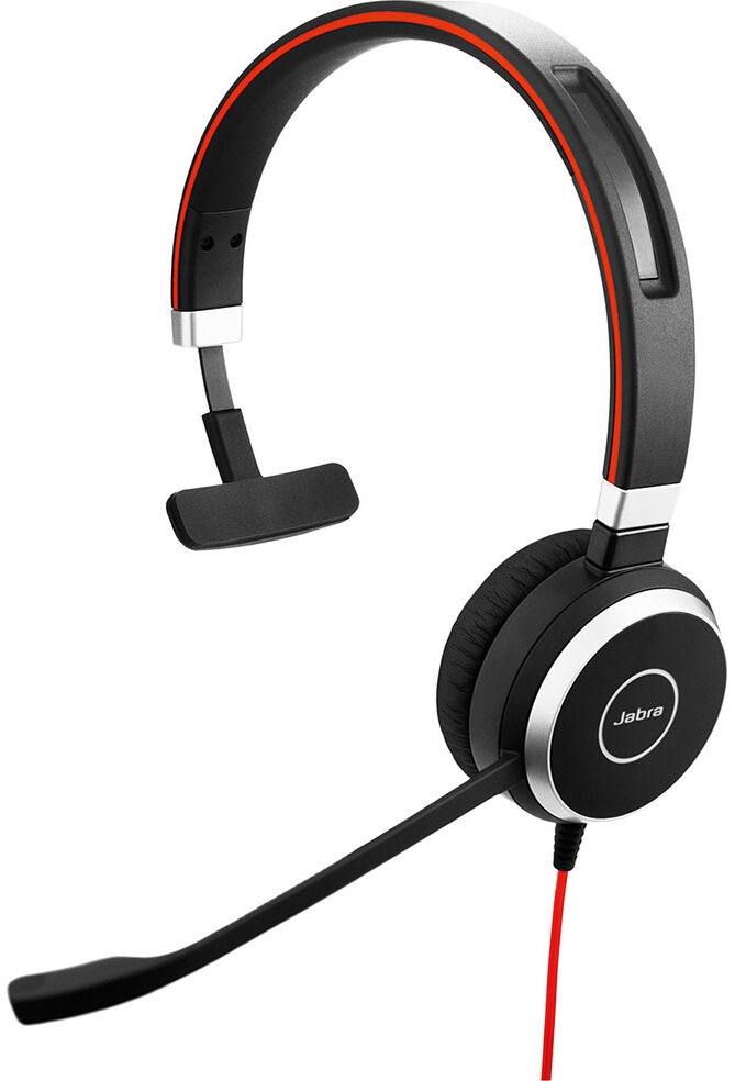 Jabra Evolve 40 UC Mono Zestaw słuchawkowy Opaska na głowę Czarny