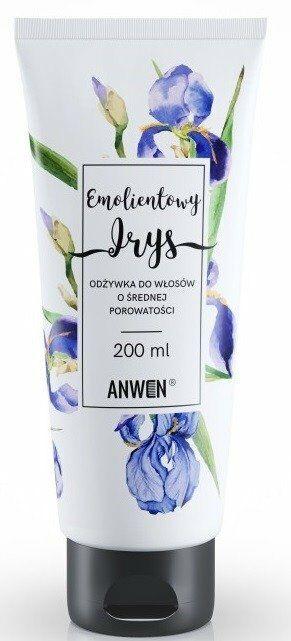 Anwen Odżywka do włosów o średniej porowatości Emolientowy Irys 200ml